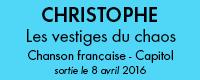bloc cd christophe