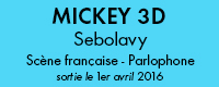 bloc cd mickey 3d