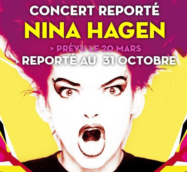 Report du concert de Nina Hagen