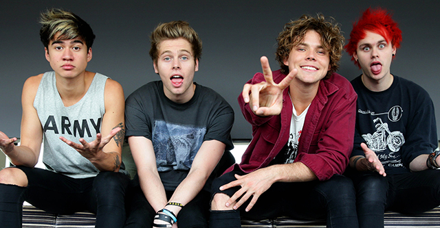 "5 Seconds of Summer – ""Hey everybody !"""