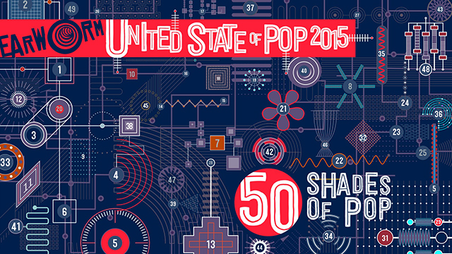 """Dj Earworm – """"United State of Pop 2015 – 50 shade of pop"""""""