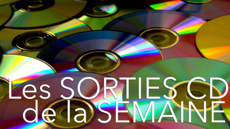 Les sorties CD du 13 Septembre